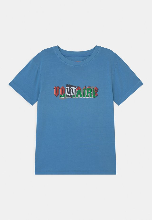 SHORT SLEEVES - Camiseta estampada - bleu marin