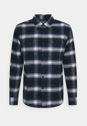 JONES PLAID SAWYER - Skjorta - blue