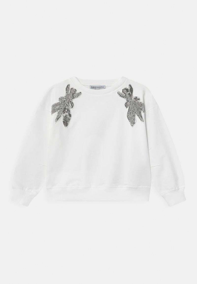 Patrizia Pepe - FELPA FLY - Sweatshirt - white