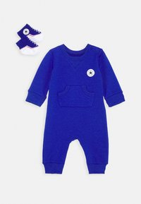 Converse - LIL CHUCK COVERALL SET UNISEX - Overal - blue - 0