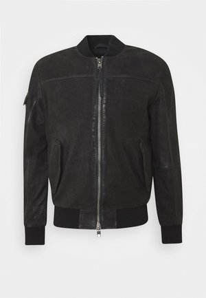 VELTE - Leather jacket - black