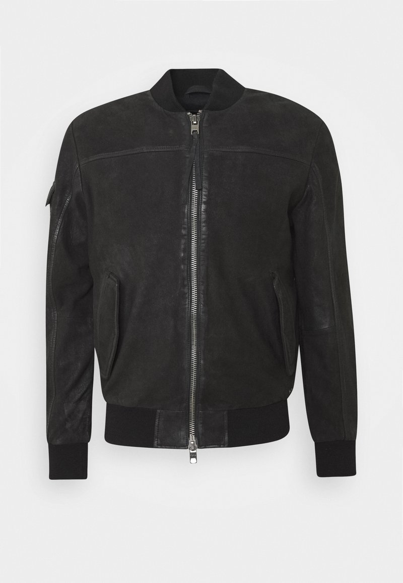 Tigha - VELTE - Leather jacket - black