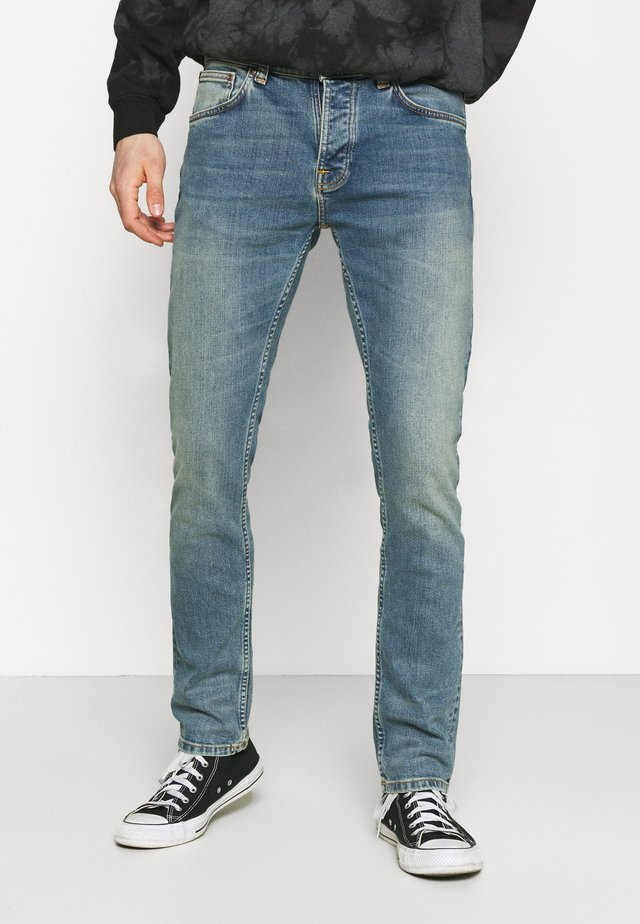 GRIM TIM - Vaqueros slim fit - blue meadow