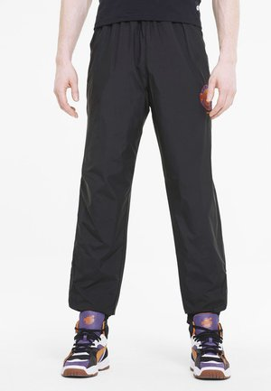 X THE HUNDREDS - Tracksuit bottoms - black