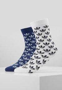 adidas Originals - THIN 2 PACK - Socks - skytin/white - 0