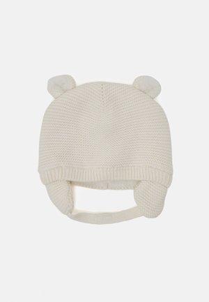 LINED GARTER HAT UNISEX - Mütze - ivory frost