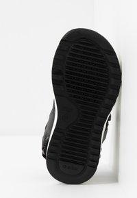 Geox - ALBEN BOY - Walking sandals - black/grey - 5