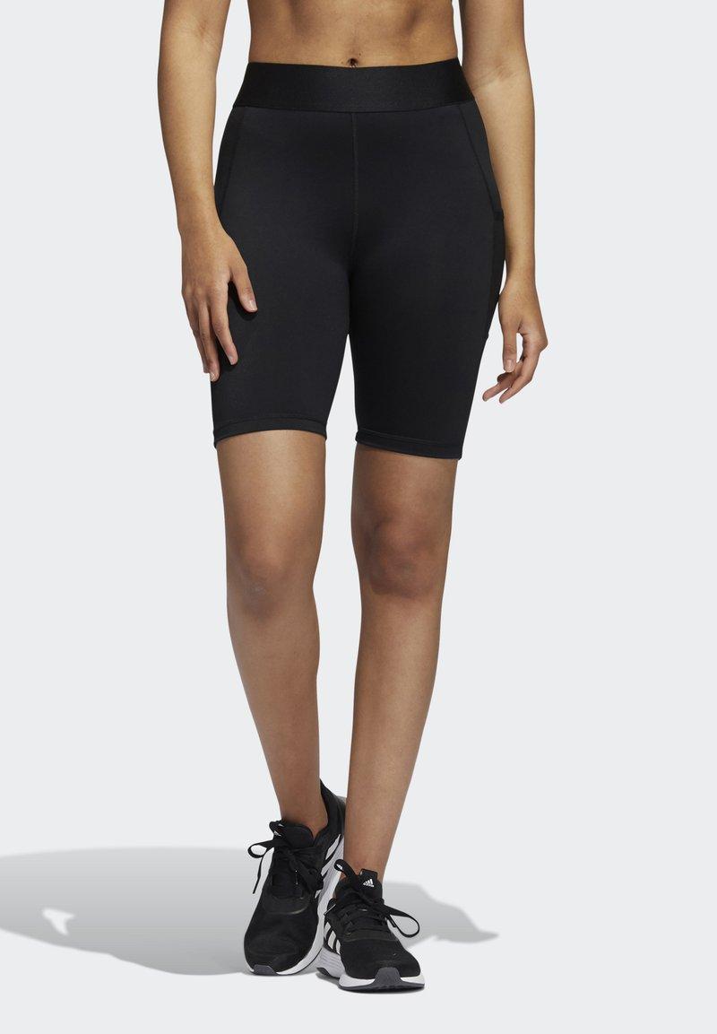 adidas Performance - TECHFIT PERIOD-PROOF - Shorts - black