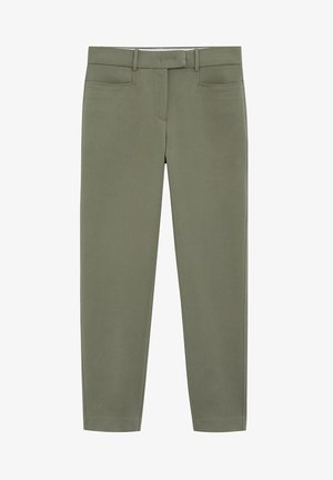 ALBERTO - Pantalon classique - khaki