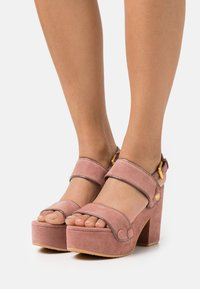 See by Chloé - GALY - Platform sandals - pink - 0