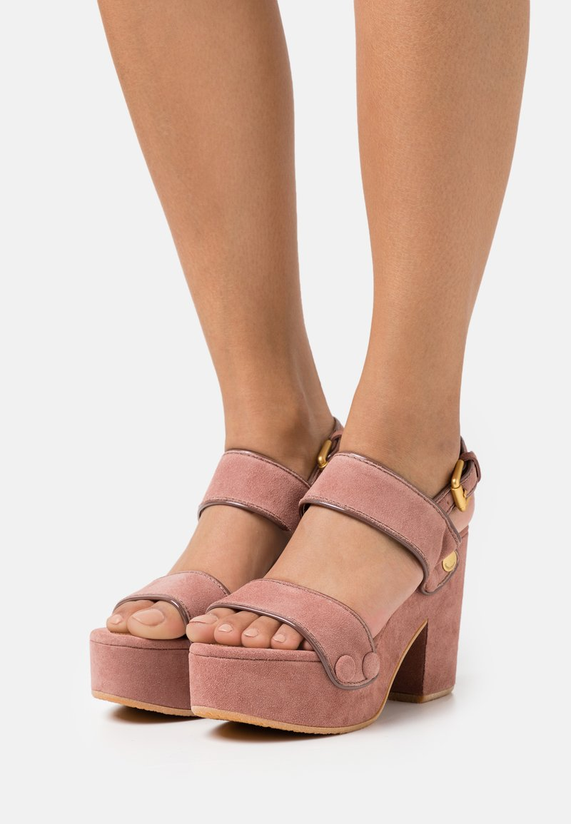 See by Chloé - GALY - Platform sandals - pink