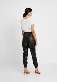Miss Selfridge - JOGGER - Pantaloni - black - 3