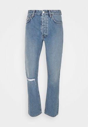 ROB RIPPED WASH - Slim fit jeans - blue denim