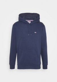 Tommy Jeans - REGULAR FLEECE HOODIE - Felpa con cappuccio - twilight navy - 3