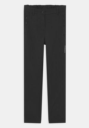 KERMAN JR UNISEX - Outdoorové kalhoty - black