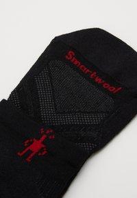 Smartwool - RUN GRAPHITE - Sportssokker - black - 2