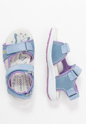 Chodecké sandály - light blue