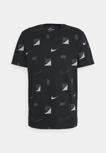 TEE BRANDRIFF - T-shirt med print - black