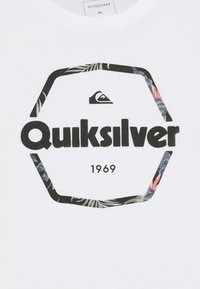 Quiksilver - HARD WIRED  - T-shirt con stampa - white - 2