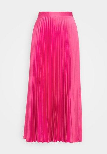PLEATED SKIRT - Maxi sukně - pink