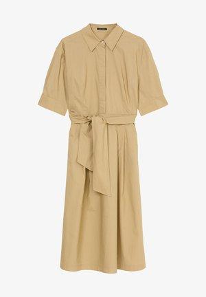 DRESS STYLE BELTED WAIST - Shirt dress - sandy beach