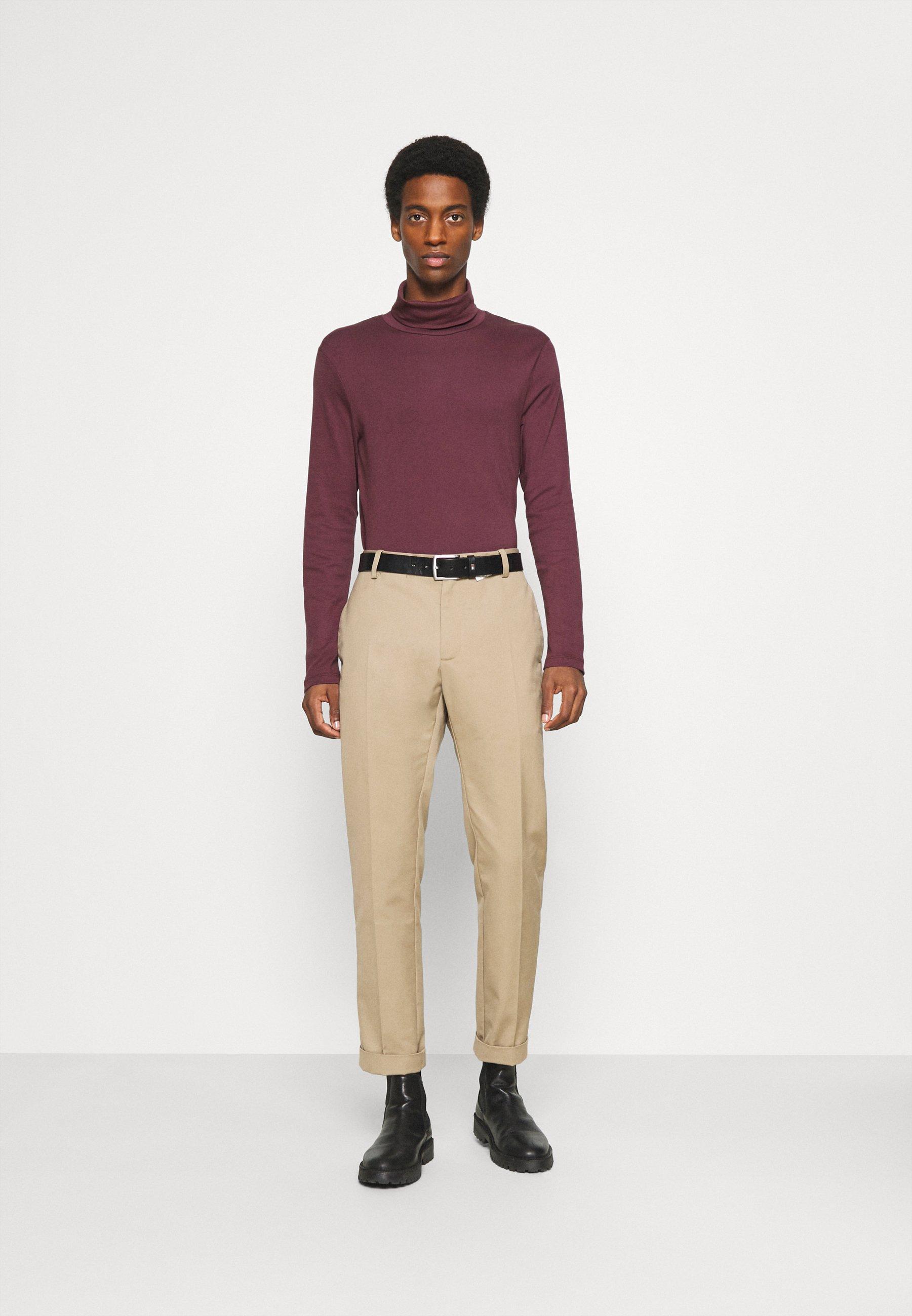 Men BASIC TURTLE NECK LONGSLEEVE - Long sleeved top