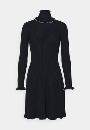 SCANDIRE - Robe pull - midnight blue