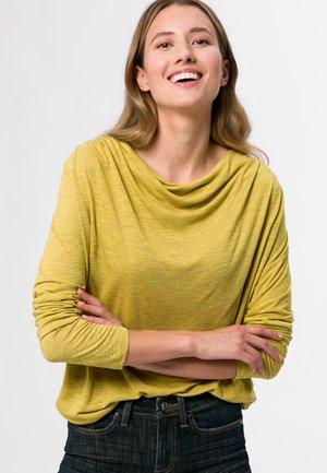 Longsleeve - light mustard melange