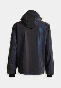 Calvin Klein Jeans - TECHNICAL 2 IN 1 UTILITY JACKET - Bodywarmer - purple/olive - 1