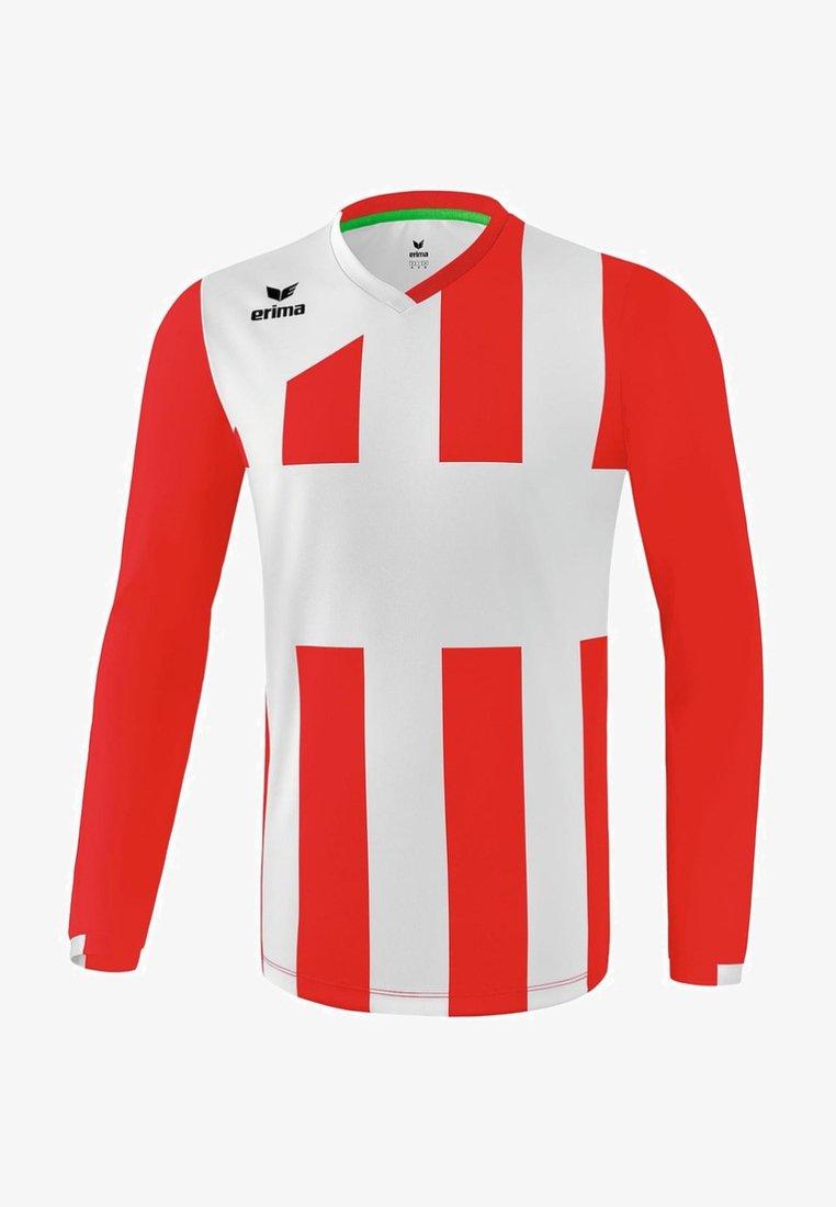Erima - SIENA - Sports shirt - rot / weiß
