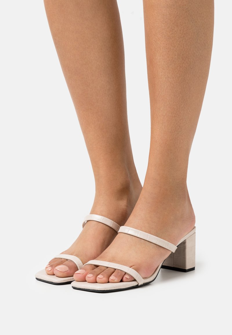 Rubi Shoes by Cotton On - MERITA MULE - Heeled mules - nude