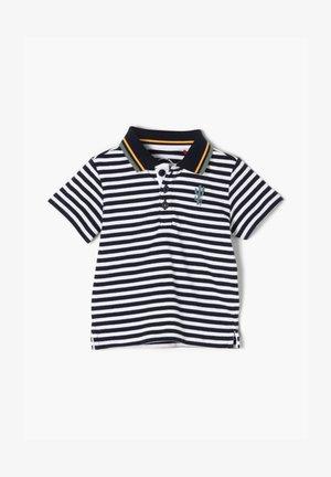 MIT POLOKRAGEN - Polo shirt - blue stripes