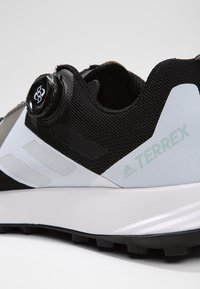 adidas Performance - TERREX TWO BOA TRAIL RUNNING SHOES - Løpesko for mark - black/clear/white - 5