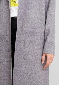 Vero Moda - VMTASTY FULLNEEDLE COATIGAN - Cardigan - medium grey melange - 5