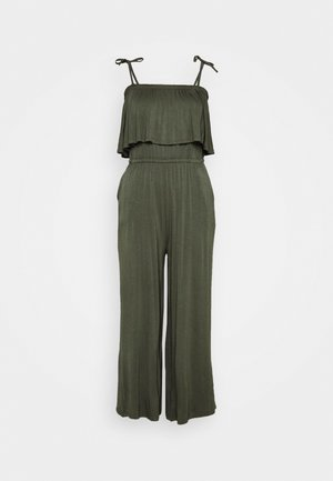 CULOTTEOVERALL PALM - Overal - khaki