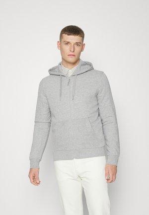 ABIERTA TERRY WEB - Zip-up sweatshirt - medium grey
