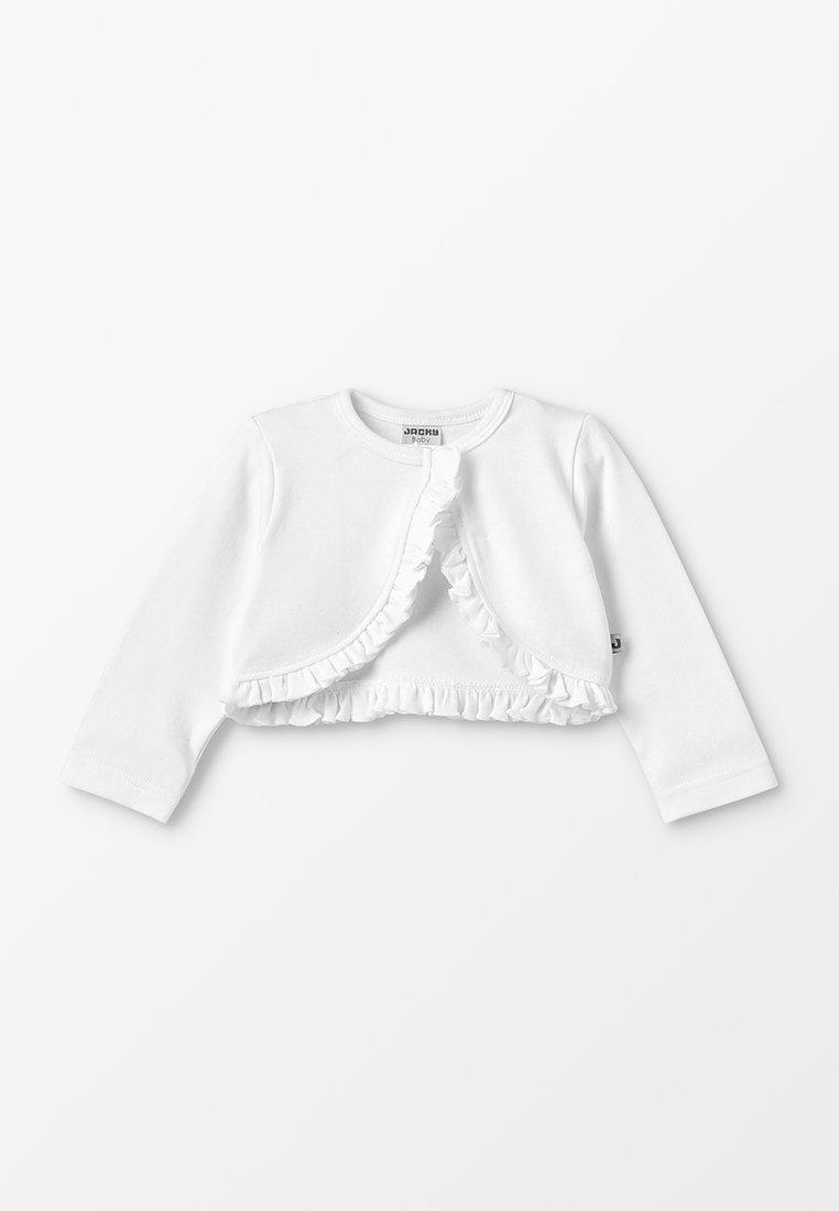 Jacky Baby - BOLERO CLASSIC BASIC BABY - Kardigan - off-white