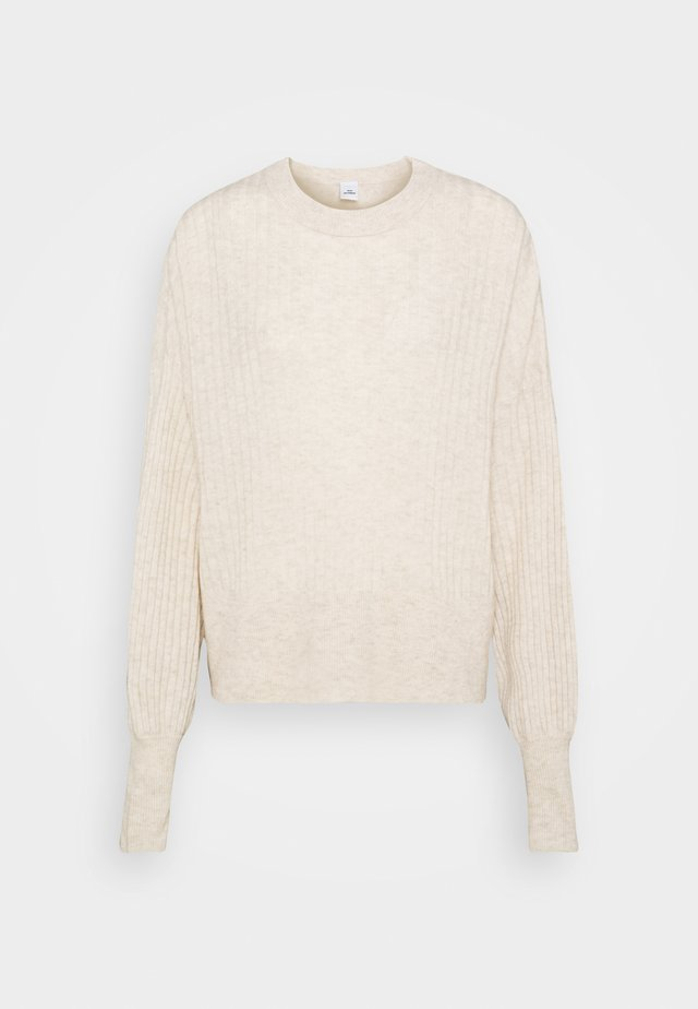 BLAKELY ONECK - Pullover - cannoli cream