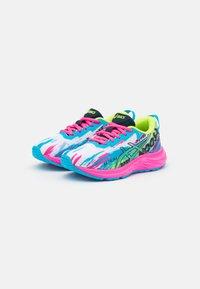 ASICS - GEL-NOOSA TRI 13 UNISEX - Competition running shoes - digital aqua/hot pink - 1