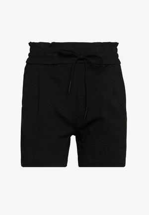 VMEVA SHORT RUFFLE - Szorty - black