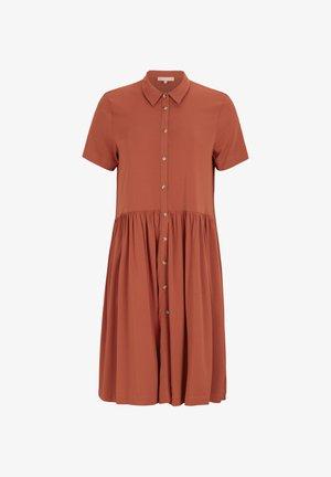 SRVALENCIAL - Shirt dress - rooibos tea