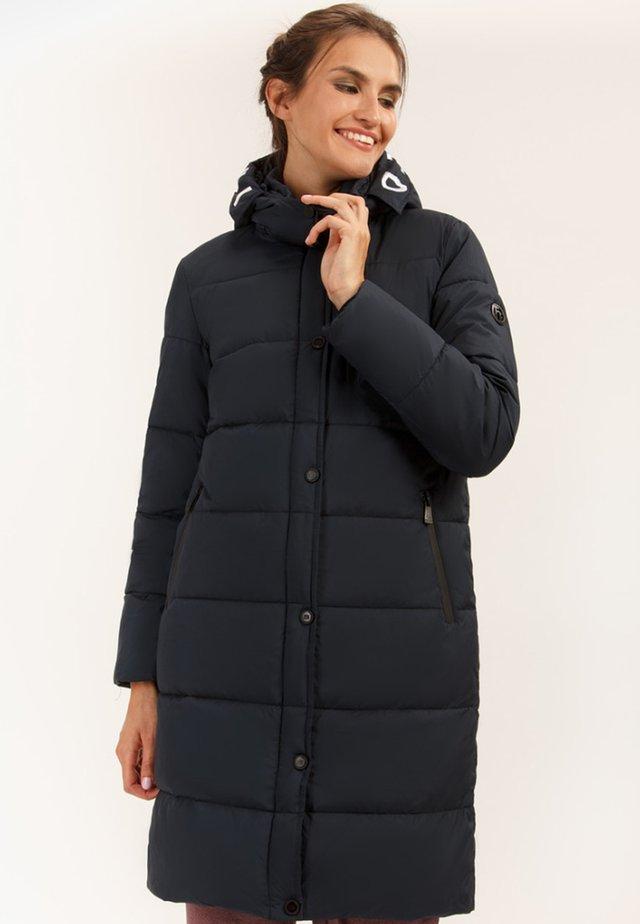 MIT GERADEM SCHNITT - Winter coat - cosmic blue