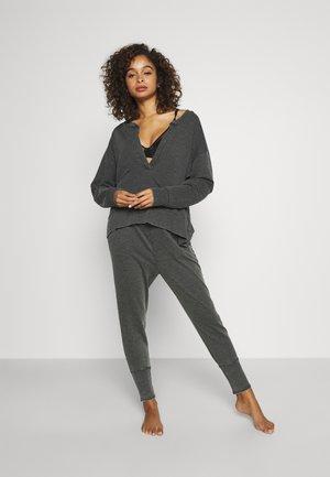 COZY COOL GIRL LOUNGE SET - Pijama - washed black