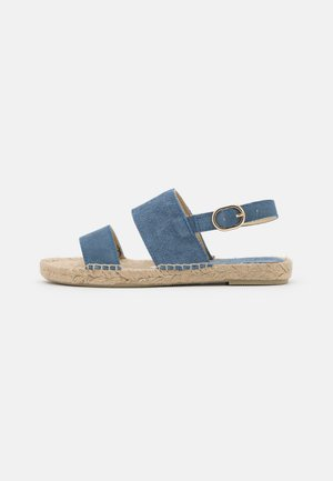 STRIPE  - Sandály - jeans