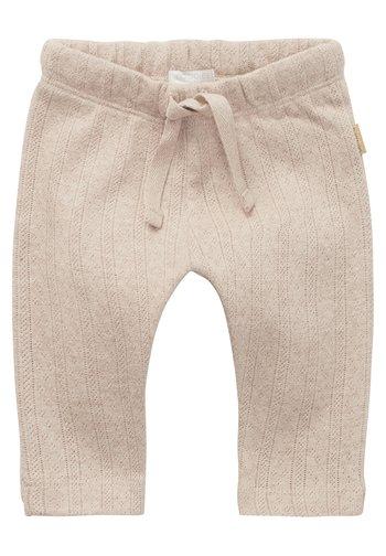 Trousers - sand melange