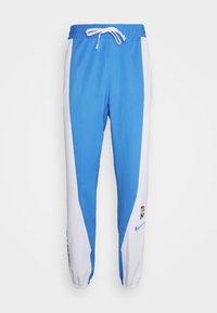 Nike Performance - NBA LOS ANGELES LAKERS CITY EDITON THERMAFLEX PANT - Pantalon de survêtement - coast/white/pure platinum - 3