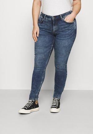 Jeans Skinny Fit - bleached blue denim