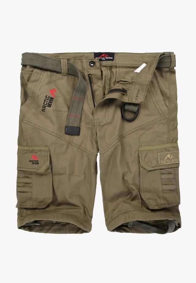 Shorts - olivgrün
