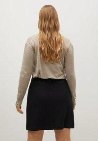 Violeta by Mango - VIVALDI - A-line skirt - schwarz - 2