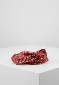 Calvin Klein - DIGITAL PRINT HEADBAND - Hair Styling Accessory - pink - 1